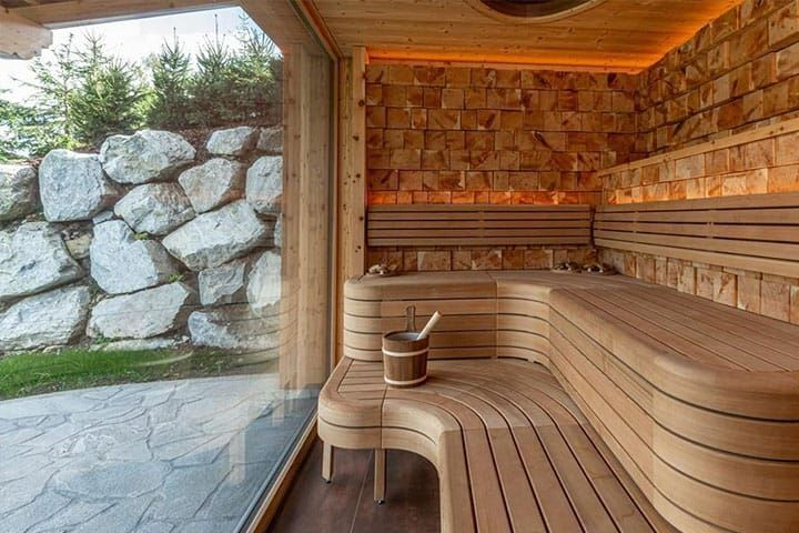 Skylodge Alpine Homes Sauna