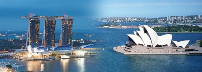 Flugschnäppchen: Wien – Singapur – Sydney – Wien um nur 832 Euro mit Etihad Airways!