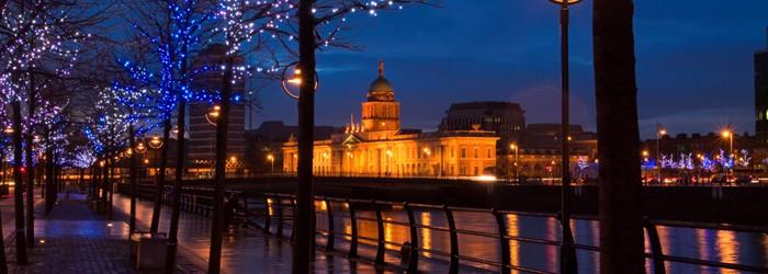 Advent in Dublin: 3 Nächte im 4* Hotel inkl. Flug im Dezember um 256 Euro