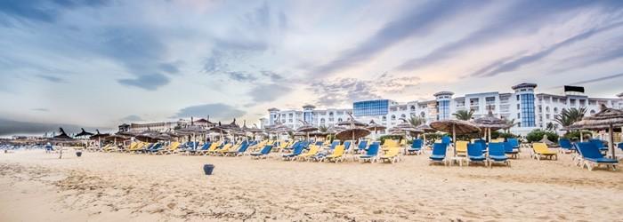 Luxusbadeurlaub in Tunesien: 1 Woche im DZ inkl. HP im 4,5*Hotel Ende September um 519€