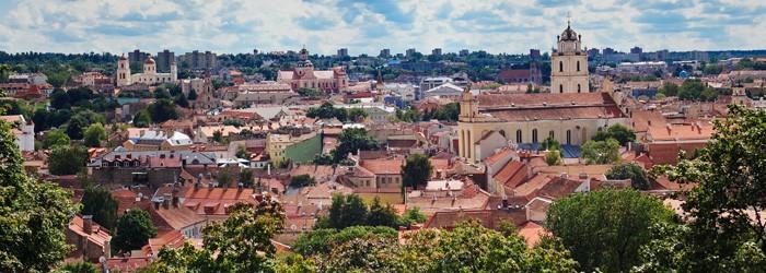 Vilnius: 3 Nächte im 4*Hotel inkl. Flug von Jänner – März übers Wochenende um 232€