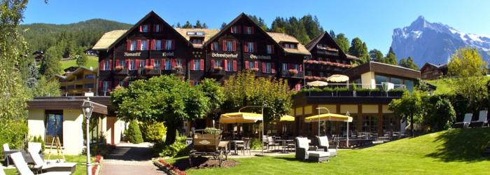 Romantik in den Schweizer Alpen: 5 oder 7 Nächte im 5* Hotel inkl. Halbpension + Wellness ab 579€ p.P. von Juli – Oktober