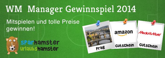 FIFA WM Managerspiel mit eigener Hamsterliga & Gewinnspiel