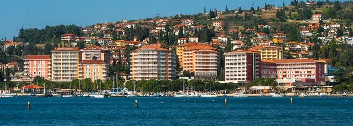 Slowenien: 4 Nächte im 5* Hotel mit Privatstrand inkl. Halbpension und Wellness ab 329€ p.P. von August – September