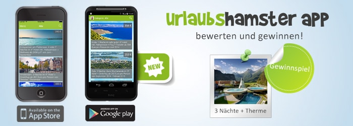 Die neue Urlaubshamster App für iOS & Android