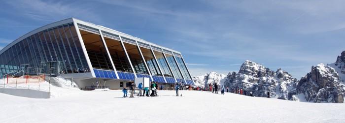 Skifahren Axamer Lizum: 7 Nächte im 3* Hotel inkl. Halbpension + Skipass + Innsbruck Card + Hallenbad um 499 Euro p.P.