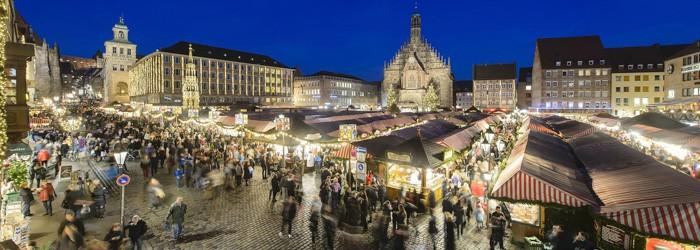 Nürnberger Christkindlesmarkt: 2 Nächte im 4* Hotel inkl. Frühstück + 1 Nürnberger Weihnachtspass + Sauna ab 99 Euro p.P.