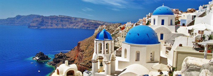 Santorini: 7 Nächte im 3* Hotel inkl. Frühstück, Flug + Transfer ab 550 Euro pro Person im Oktober