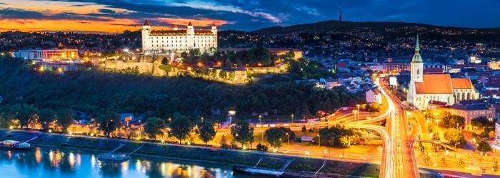Bratislava: 1 oder 2 Nächte im 4* Hotel inkl. Frühstück + Fahrt mit dem Bummelzug ab 39,90 Euro pro Person