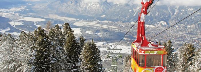 Innsbruck: 2 Nächte im 4* Hotel inkl. Frühstück + Sauna + Skipass ab 129 Euro pro Person