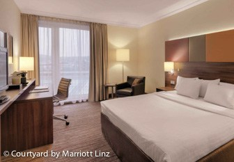 Courtyard by Marriott Linz Zimmer