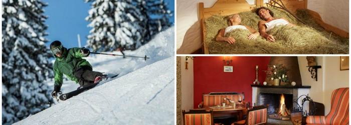 Ski, Schlemmen & Kuscheln: 5 oder 7 Nächte im 4* Hotel inkl. Halb- oder Vollpension + Wellness ab 149 Euro pro Person
