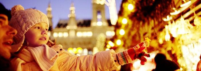 Christkindlmarkt in Wien: 1, 2 oder 4 Nächte im 4* Hotel inkl. Frühstück + Wellness ab 34,50 Euro pro Person