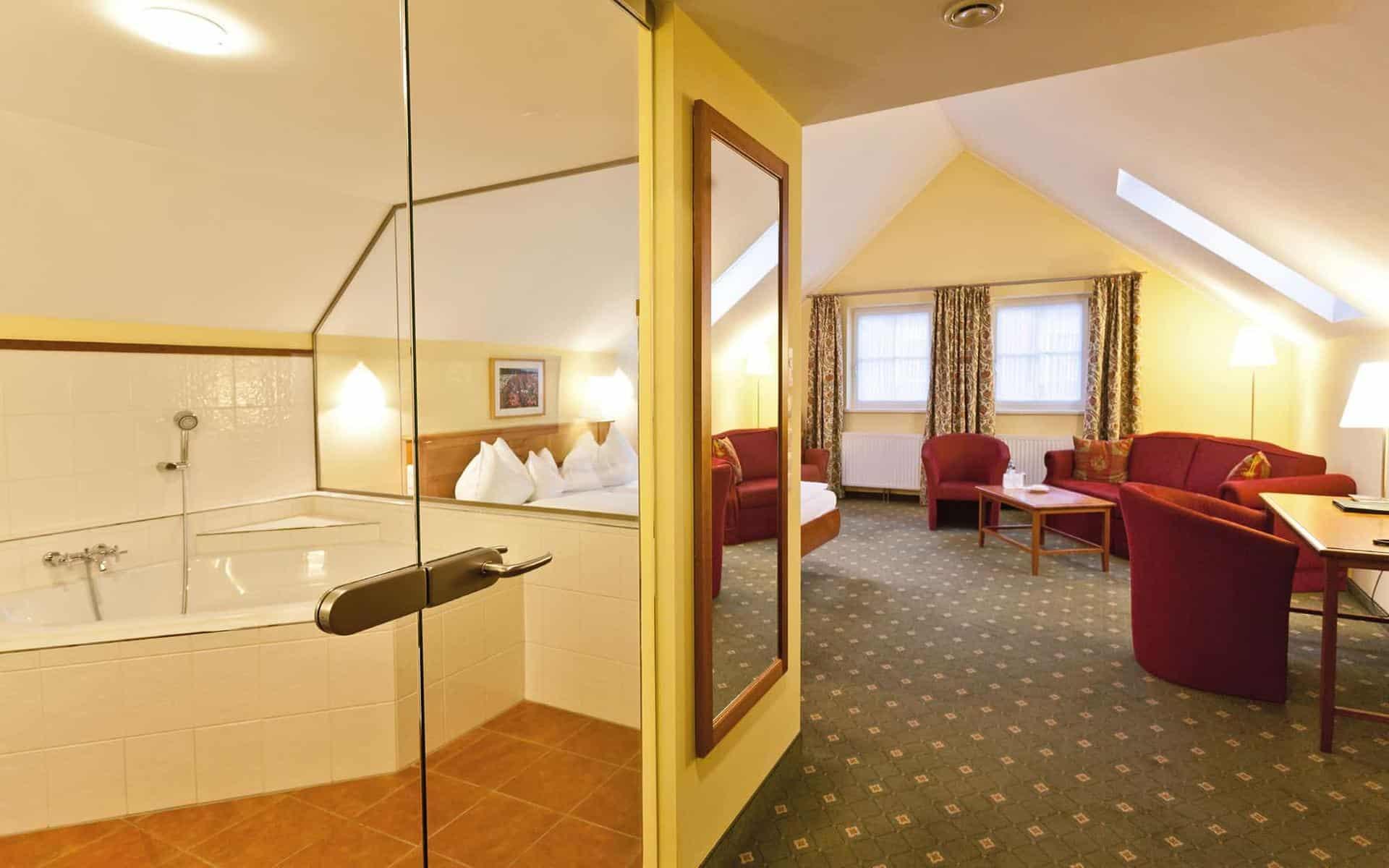 Gmünd Hotel Goldener Stern Zimmer