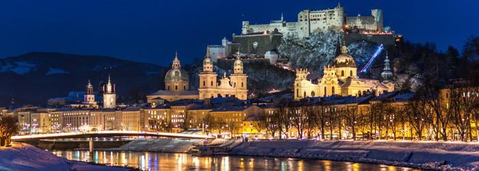 Winterzauber in Salzburg: 3 Nächte im 4* Hotel inkl. Frühstück + gratis Nutzung von Dampfbad und Sauna ab 99€ p.P.