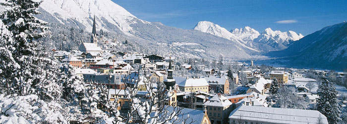 Winterparadies Tirol: 7 Nächte im 3* Hotel inkl. Halbpension + Wellness ab 299€ p.P. von Jänner – März 2015