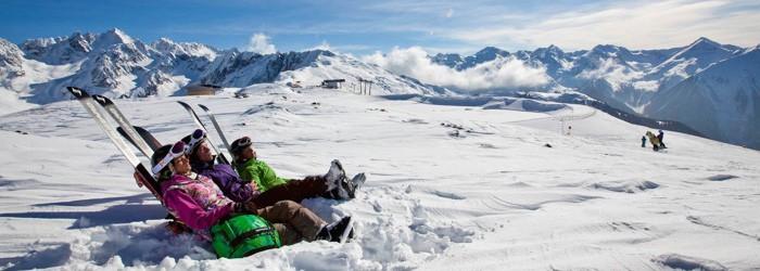 Wintersport im Pitztal: 3, 4 oder 7 Nächte im 4* Hotel inkl. Halbpension + Wellness ab 159 Euro pro Person