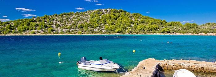Kroatien – Insel Murter – Hotel Borovnik