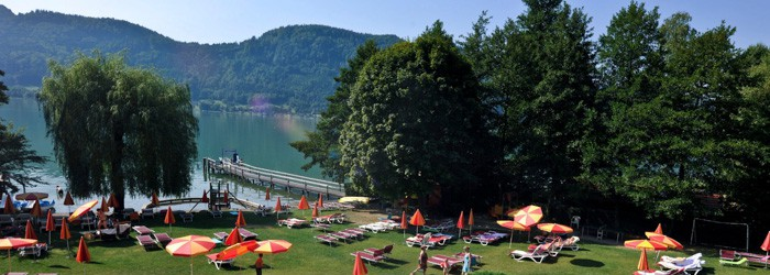 Ossiacher See: 3 Nächte im 4* Hotel inkl. Halbpension + Seezugang mit Privatstrand + Wellness ab 179 Euro pro Person