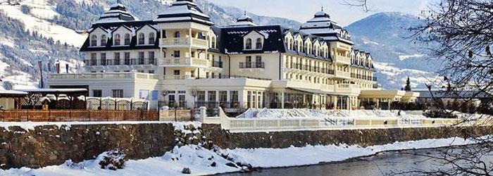 Luxuriöser Wellnessurlaub: 2 oder 3 Nächte im 5* Grand Hotel inkl. Frühstück + 1x 5-Gang-Gourmetmenü ab 199 Euro pro Person