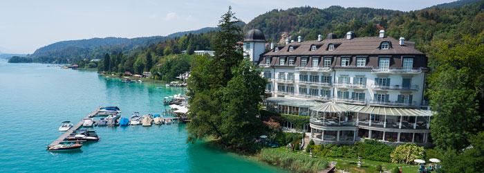 Luxus am Wörthersee: 2 – 4 Nächte im 5* Hotel inkl. Frühstück + 1x 5-Gänge Abendmenü + Wellness ab 269€ p.P.
