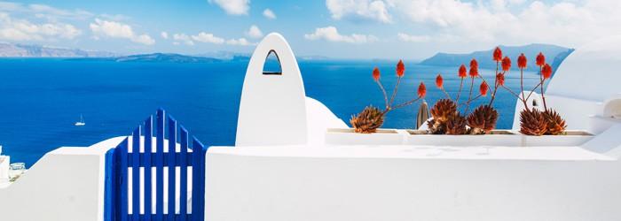 Santorin: 7 Nächte im 4* Hotel in Perissa inkl. Frühstück + Flug und Transfer ab 344 Euro pro Person im Mai