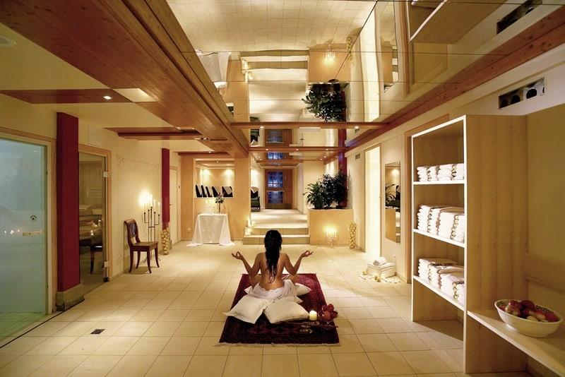 Hotel Adler Spabereich
