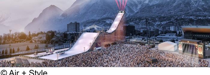 Air+Style Snowboard Festival: 2-3 Nächte im 4*Hotel in Innsbruck inkl. Festivalticket und Frühstück ab 145€