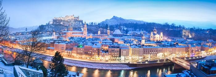Advent in Salzburg: 2 Nächte im 4*Hotel inkl. Frühstück und Mozartkugeln ab 79€