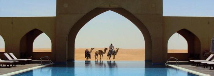 Urlaub in der Wüste – Hotel Tilal Liwa