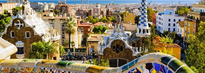Barcelona in den Sommerferien