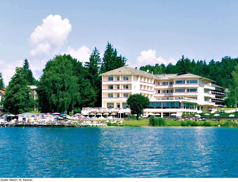 Klopeiner See Hotel Marolt Außenansicht