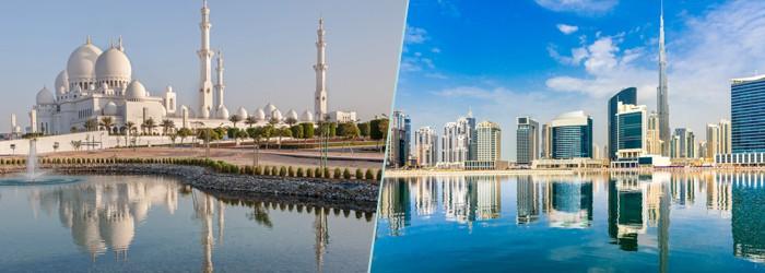 Dubai und Abu Dhabi