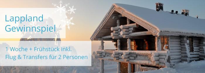 Gewinnspiel – Lappland für 2 Personen
