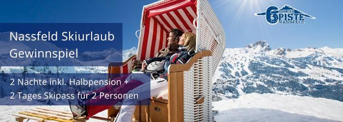 Gewinnspiel – Alpen Adria Hotel Spa Nassfeld + Skipass