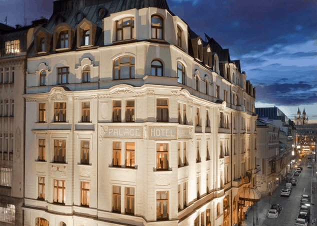 Art Nouveau Palace Hotel Prag SE Angebot