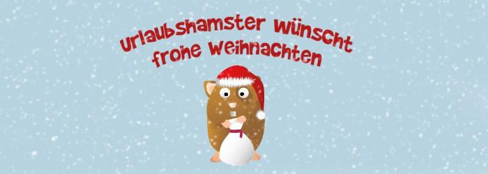 Frohe Weihnachten & ein frohes Fest