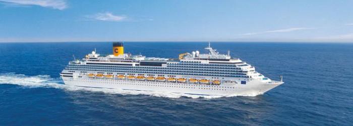 Mittelmeer Kreuzfahrt auf der Costa Fascinosa