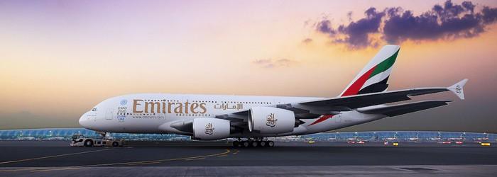 Gewinnt Emirates A380 Flüge nach Dubai & 2 Nächte im 5* Hotel
