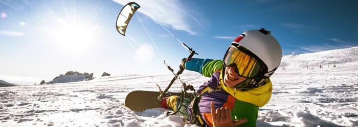 Snowkiten in Finnland für Fortgeschrittene & Profis