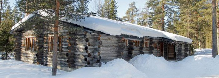 Blockhausromantik in Lappland