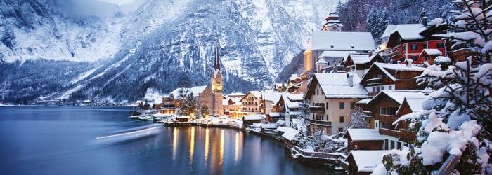Wintertraum in Hallstatt – 4* Hotel Heritage