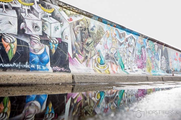 Städtereise Berlin Mauer