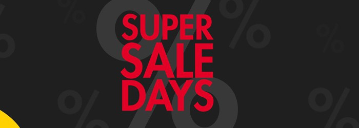 JUST AWAY Super Sale Days