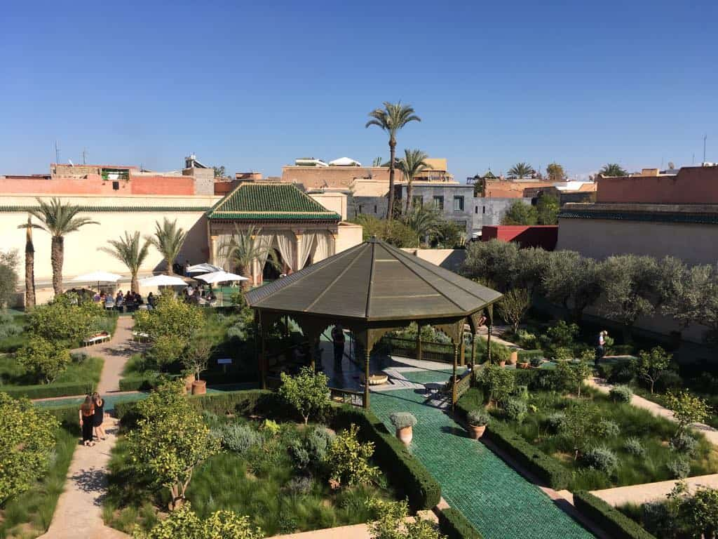Jardin Secret Marrakesch