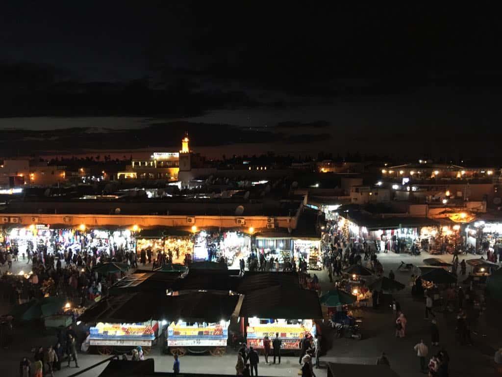 Marrakesch Jemma el Fna Platz
