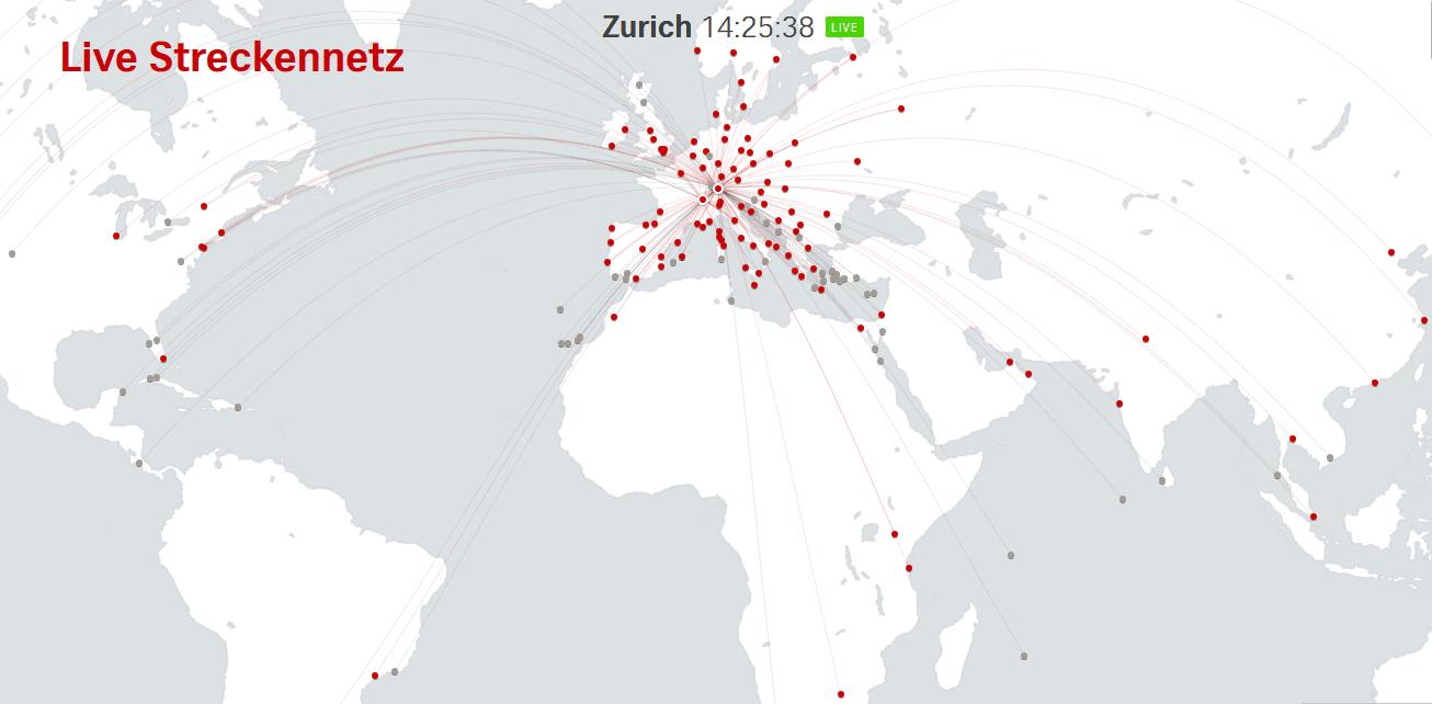 Swiss Streckennetz