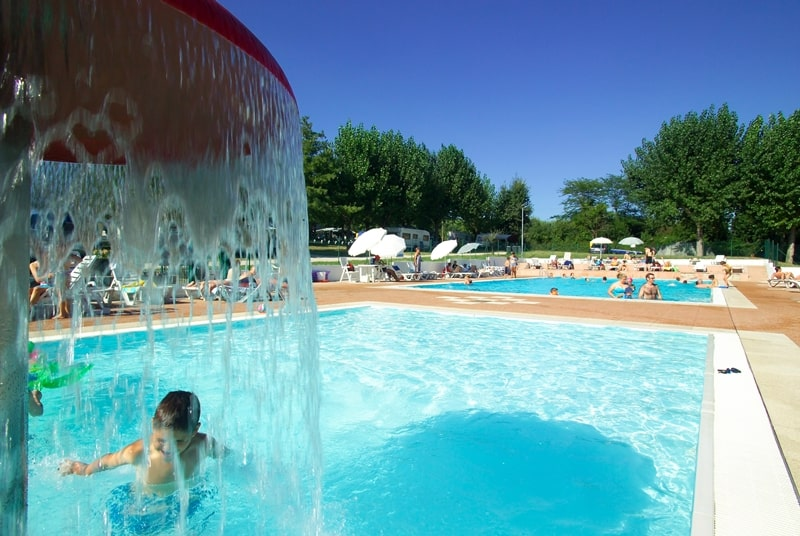 Camping Fontanelle Pool