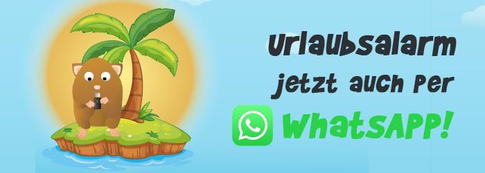 WhatsApp Service von Urlaubshamster