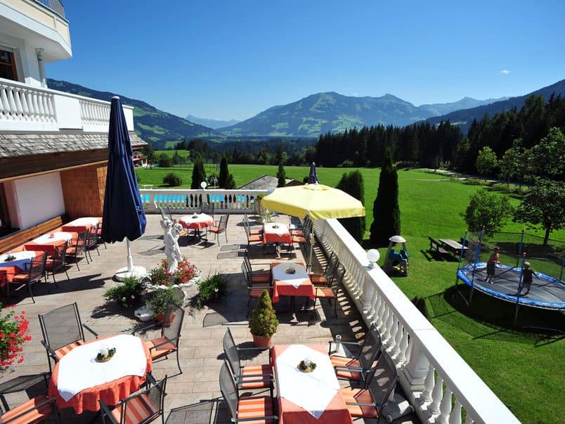 Hotel Gasthof Leamwirt Terasse